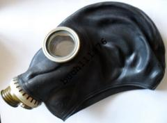 Mask black ShMP protivogazny