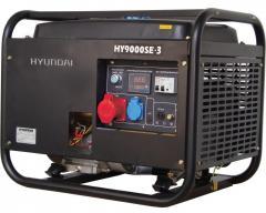 Генератор бензиновый Нyundai HY 9000SE-3