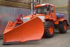Snowplow hinged plow UPM1-2