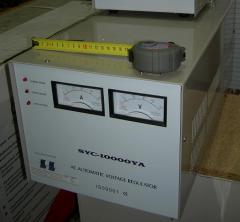 Stabilizer of an alternating voltage SVC-10000