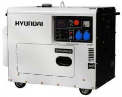 Генератор дизельный HYUNDAI DHY6000 SE