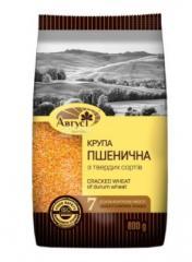 Август, 800 г, Крупа пшеничная из твердых сортов