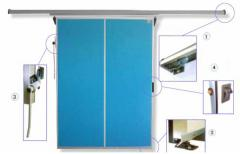 Doors are oar, retractable, container for