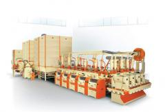 Mill for a grinding of wheat of soft grades,