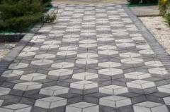Производство и установка еврозаборов, укладка и производство тротуарной плитки.