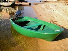 Лодка гребная стеклопластиковая Лагуна