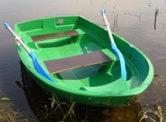 Лодка гребная стеклопластиковая Малютка