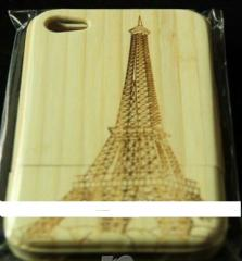 Cover for IPhone 4 bamboo handwork.