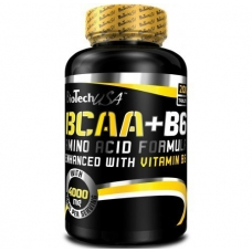 БСАА Bio Tech BCAA + B6 (200 tab)