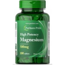 Витамины и минералы Puritans pride Magnesium...