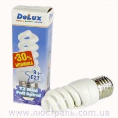 Энерго-лампы Delux T2 mini Full spiral 11W 6400K