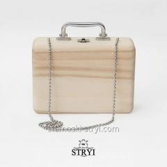 Деревянная заготовка женской сумочки, ...