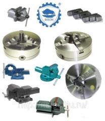 Токарные патроны, оправки, переходные втулки, токарные разценодержатели и запасные части Bison-Bial s. a., ROHM GmbH, Schunk