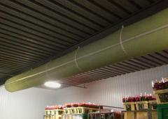 Воздуховоды тканевые