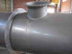 Компенсаторы для технологических газоходов с агрессивной средой