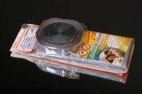 Mosquito grid + fastening self-adhesive