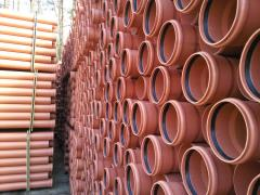 Pipe PVC for the external sewerage