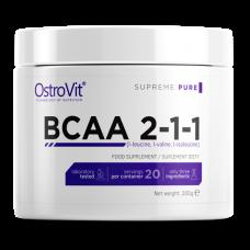 БСАА Ostrovit Extra Pure BCAA 2:1:1 200 грамм