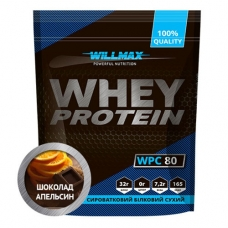 Протеин Willmax Whey Protein 80% 920 грамм