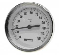 The thermometer is bimetallic