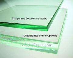 Закаленное стекло Диамант 8  мм (optiwhite)