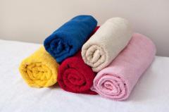 Полотенца махровые, разных цветов и размеров (без