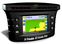 System of parallel driving Trimble Ez-Guide-250