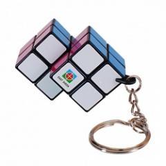 Двойной гибрид Кубика Рубика 2х2 - брелок
