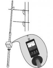 Bars for measurements on air-lines 0,4kv (6 m)