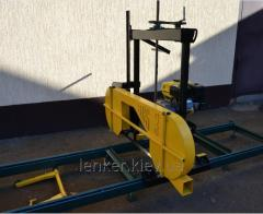 Tape horizontal power-saw bench of HBS-3