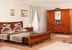 Cherry mahogany bedroom furniture