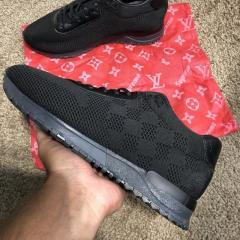Louis Vuitton Run Away Sneakers Black