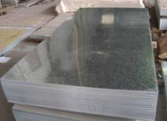 Galvanized sheets 0,7; 0,8; 1,0mm