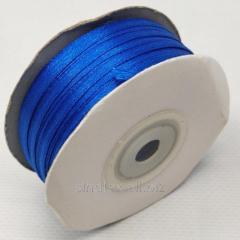 Лента атласная 0,3 см. (3мм) синяя (СИНДТЕКС-0785)