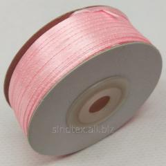 Лента атласная 0,3 см. (3мм) розовая (СИНДТЕКС-0787)