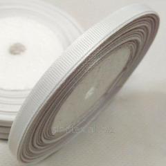 Лента репсовая 0, 5 см. (5-7мм) белая...