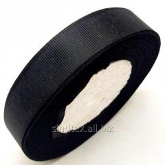 Лента репсовая 2 см. (20мм) черная (СИНДТЕКС-