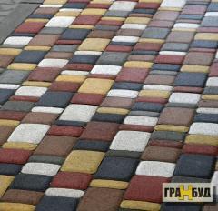 Тротуарная плитка Старый город 4