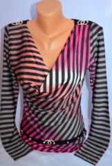 Блуза. Кофточка блуза полосы