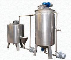 Вакуум-выпарные пищевые установки  производство