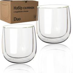 Набор стаканов с двойной стенкой СНТИ Дуо 2* 260