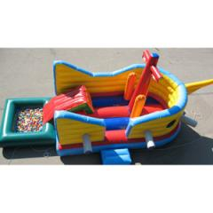 Children's trampoline Ship