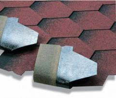 Bituminous tile of owens corning