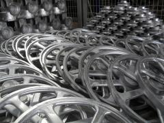Motor reels conveyor