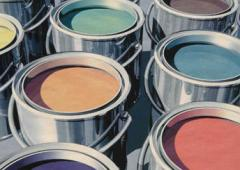 Enamels synthetic acrylic