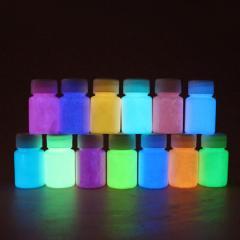 The shining (luminescent) paints