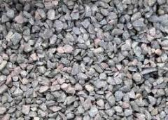 Road materials, crushed stone, wholesale