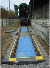 Railway truck scales VVET brand
