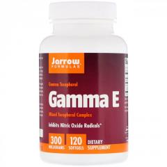 Витамин E 300 Jarrow Formulas,  гамма-токофер