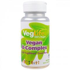 B-комплекс VegLife,  веганский,  100 таблеток